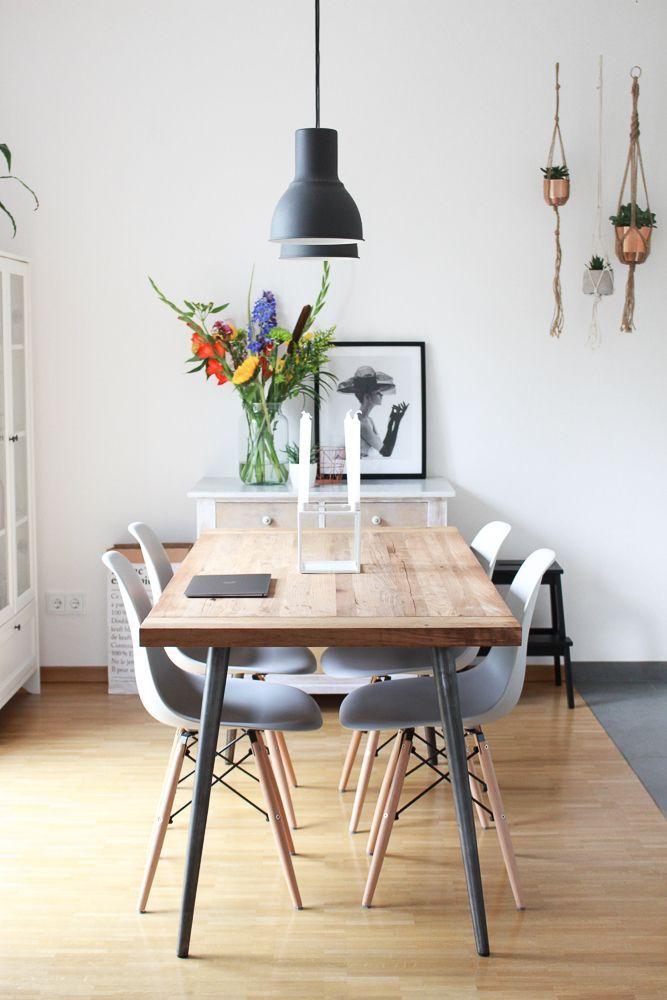 Sitzgruppe Esszimmer Weiss Honig: Homestory #10: Skandinavisches Esszimmer