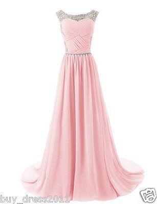 Perlée Longue Robe de mariée,demoiselle d'honneur,robe de bal,tenue de soirée