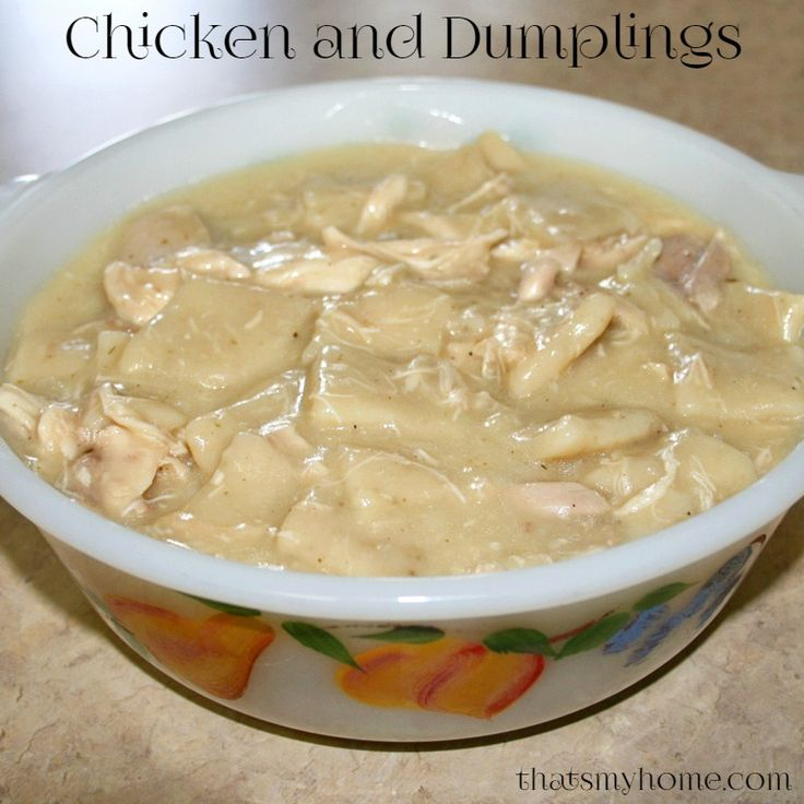 Chicken and Dumplings | Recipe | Garlic, Flats and Chicken and ...