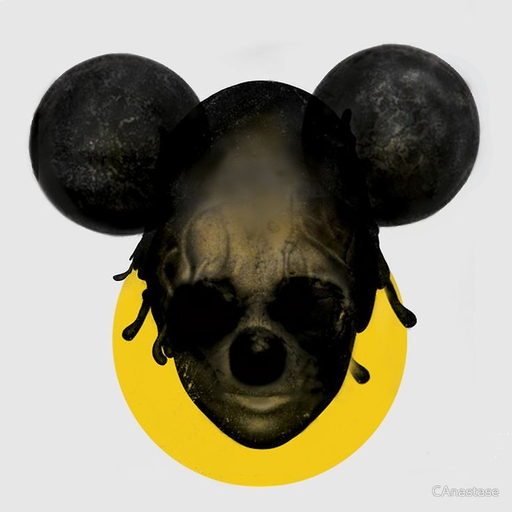 "Weird Mickey Mouse"" Canvas Prints by CAnastase 