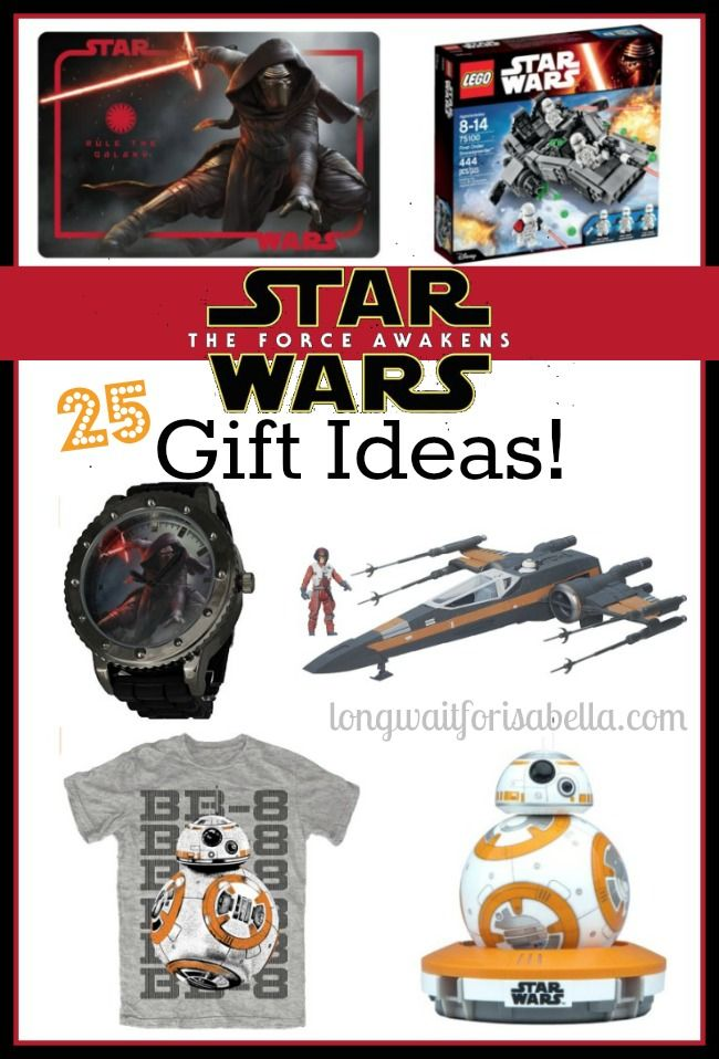25 Star Wars Gift Ideas | #StarWars
