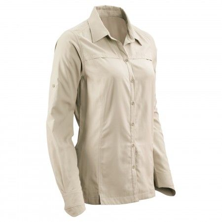 Buy Tapah Long Sleeve Shirt v2 Women Vanilla Online at Kathmandu