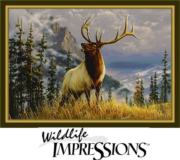 Milliken Wildlife Impressions Hautman Mountain Elk 66229