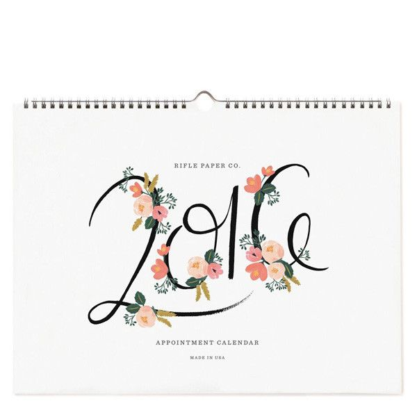 Best 25 appointment calendar ideas on pinterest calendar 2018 2016 appointment calendars from us stationery brand rifle paper co will be available in the uk in august 2015 publicscrutiny Images