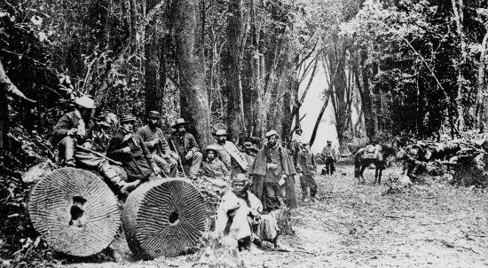Re descubrimiento de Villarrica en 1881.