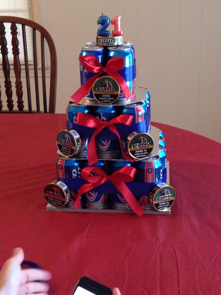 Pretty sure this is the best beer can cake ever!!