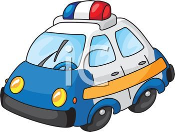 Toy Police Car Clipart - Free Clip Art Images