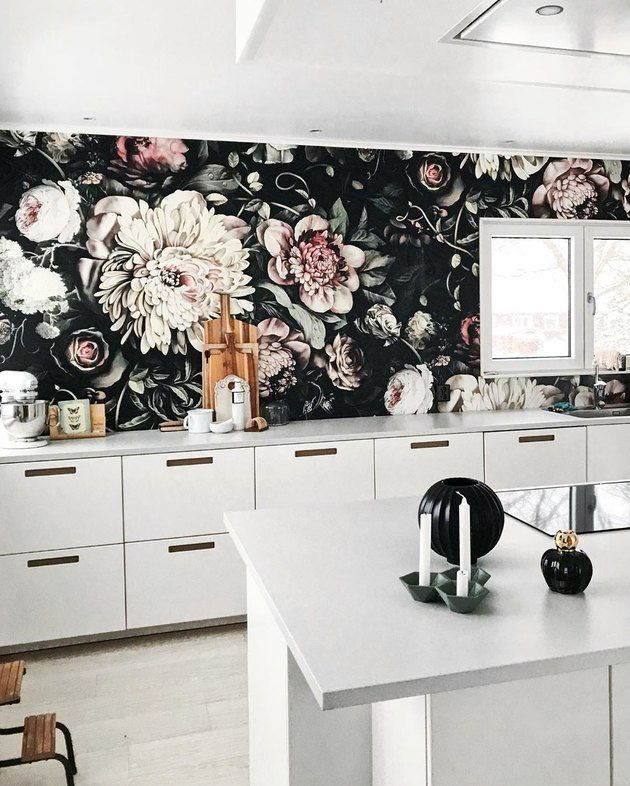 Kitchen Wallpaper Ideas Country And Modern Kitchen Wallpaper Kitchen Wallpaper Kitchen Wallpaper Design Wallpaper Border Kitchen