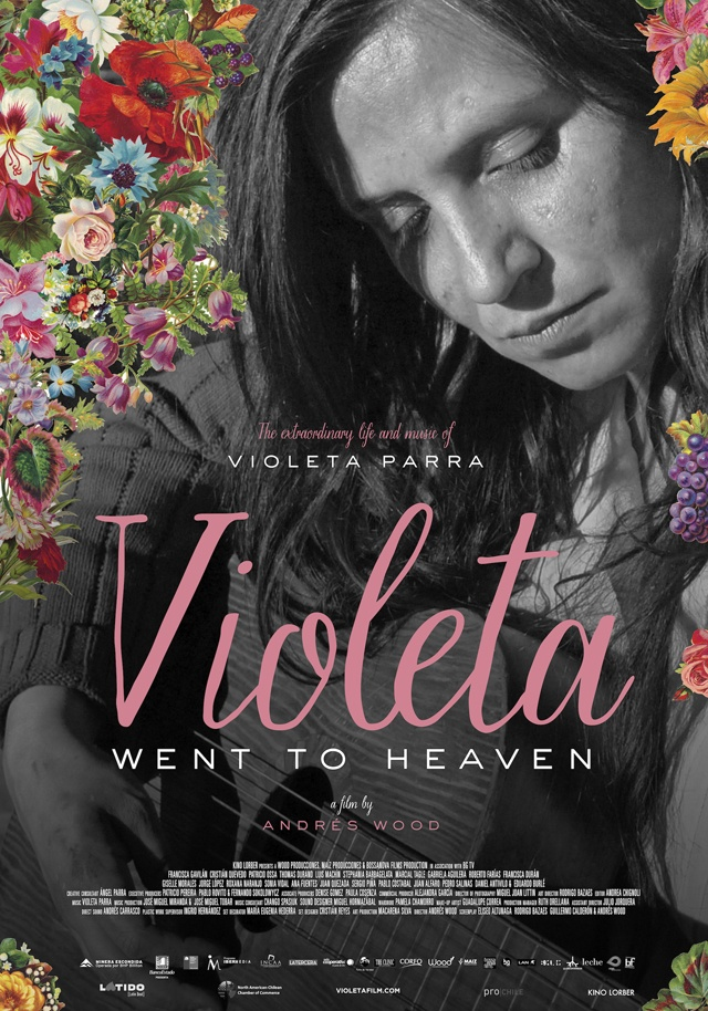 Chilean singer Violeta Parra's life told in Andrés Wood's 2011 'Violeta Went to Heaven'