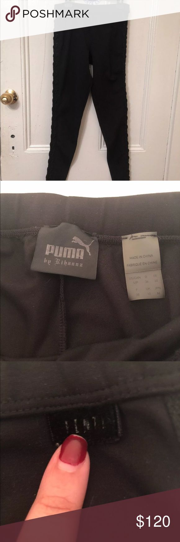 PUMA FENTY BY RIHANNA 🔥TWO PANTS PUMA FOR SALE TOGETHER🔥 I bough the both on puma's website, they are brand new, never used because they are too small for me and didn't fit me, comes with dust bag. Puma Pants Leggings
