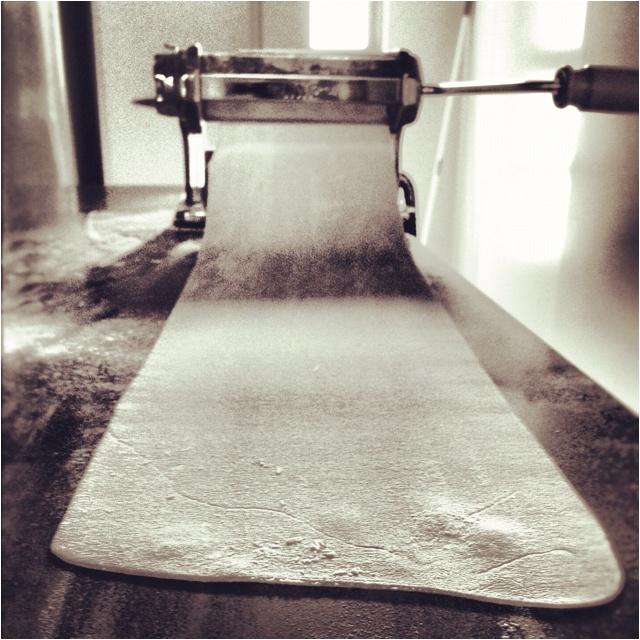 I love making pasta with my Imperia pasta machine