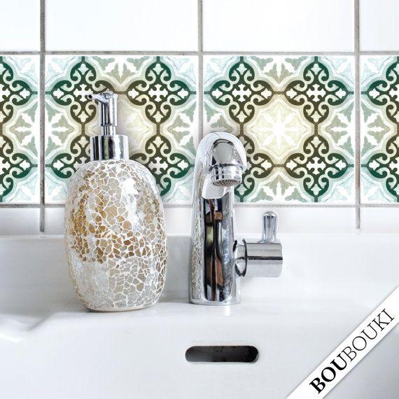 14 best fliesen images on Pinterest Tiles, Bathrooms and Ground - abwaschbare tapete küche