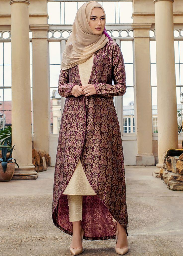 Damask Brocade Kimono