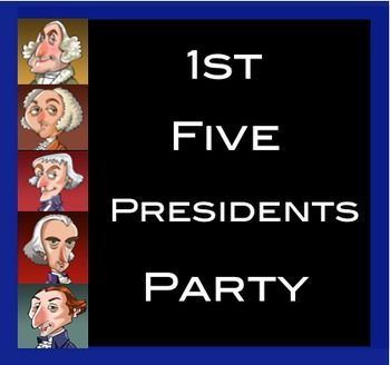 First Five Presidents Research Party and Monument Assignment Want to bring the first five presidents to life in your classroom?  Students randomly choose one of the first five presidents to research.  Then, they mix and mingle with their classmates sharing what they learned.  To synthesize all their new information, students create a monument dedicated to one of the presidents.  Virtually no teacher prep!