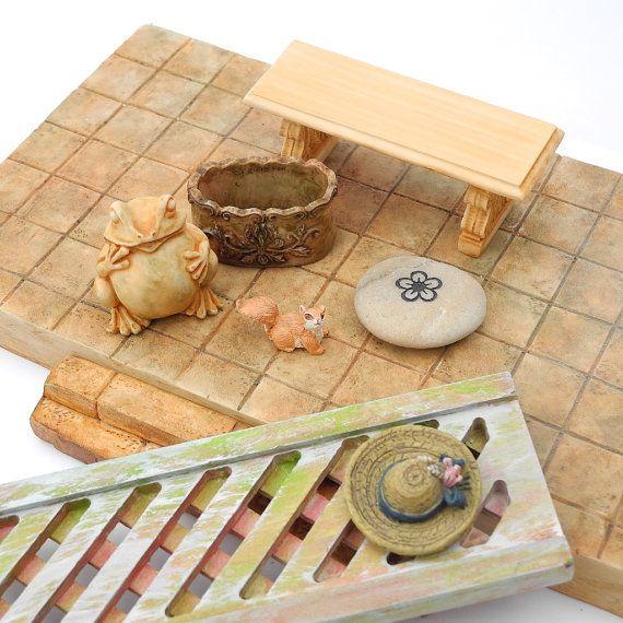 miniature buddha meditation garden set for miniature zen garden ooak 18 pcs pdf gardens. Black Bedroom Furniture Sets. Home Design Ideas