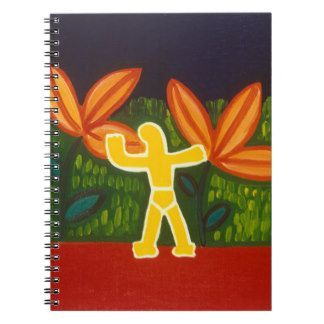 Para Alvar 2005 Spiral Notebook
