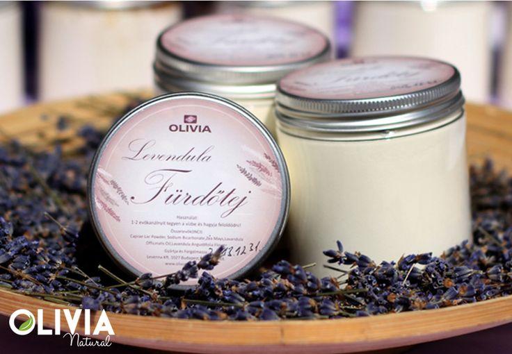 Levendula fürdőtej / Lavender bath milk