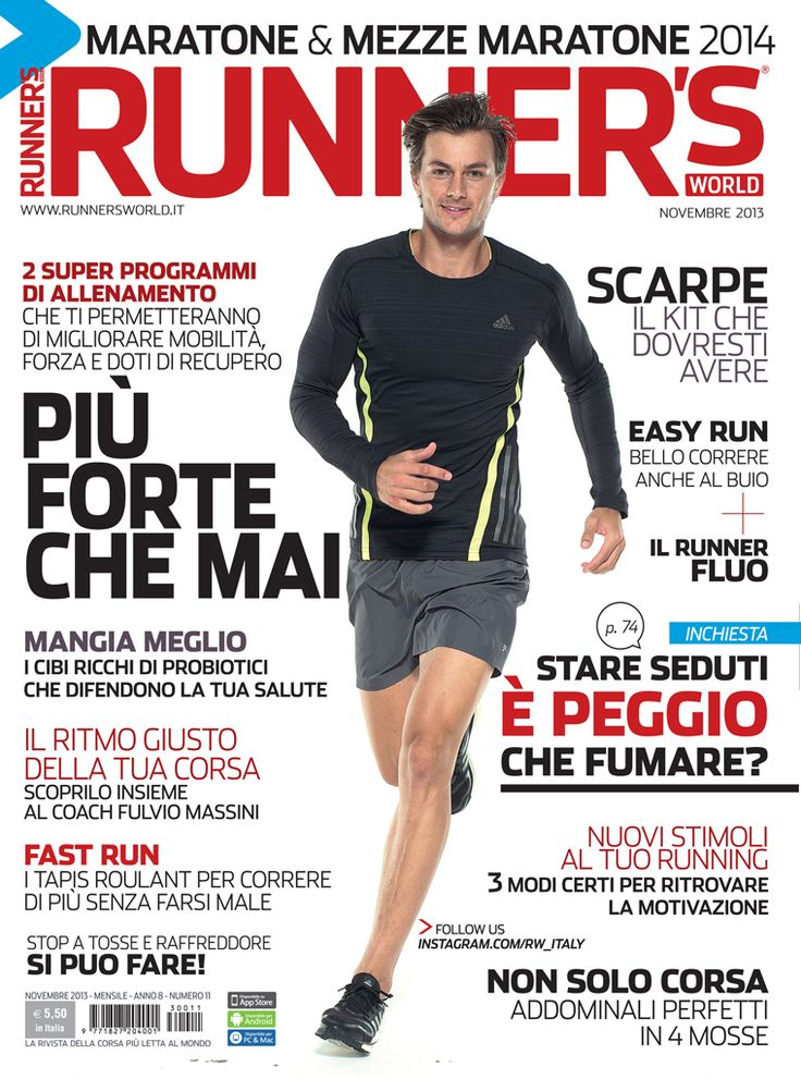 Runner's World Italia, Anno 8, Numero 11, Novembre 2013 - www.runnersworld.it