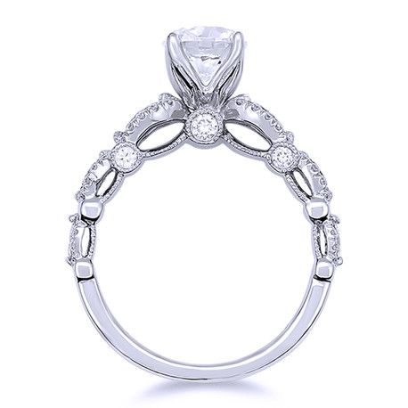 Parade Vintage Inspired Diamond Engagement Ring R3155C/R1
