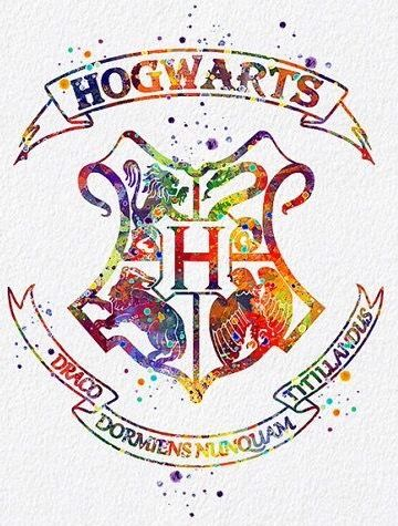 Blason Poudlard/Hogwarts | Fond d'ecran dessin, Dessin ...