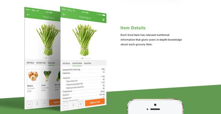 Swiftcart Grocery App on Behance