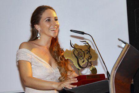 Rocio Marquez - I Galardón de la Confederación Andaluza de Peñas Flamencas a Rocío Márquez