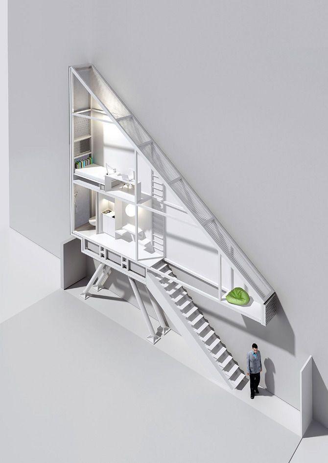 Keret House, artist residence