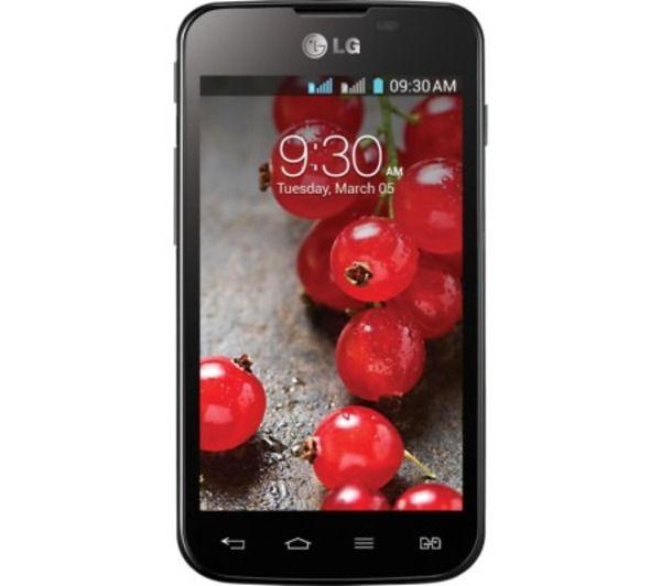 LG  Optimus L5 II Dual E455  black unlocked - looks okay