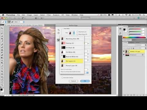 Compositing and Selecting Hair in Photoshop CS5 - A topic that many struggle with. This video has seen over 600,000 views!