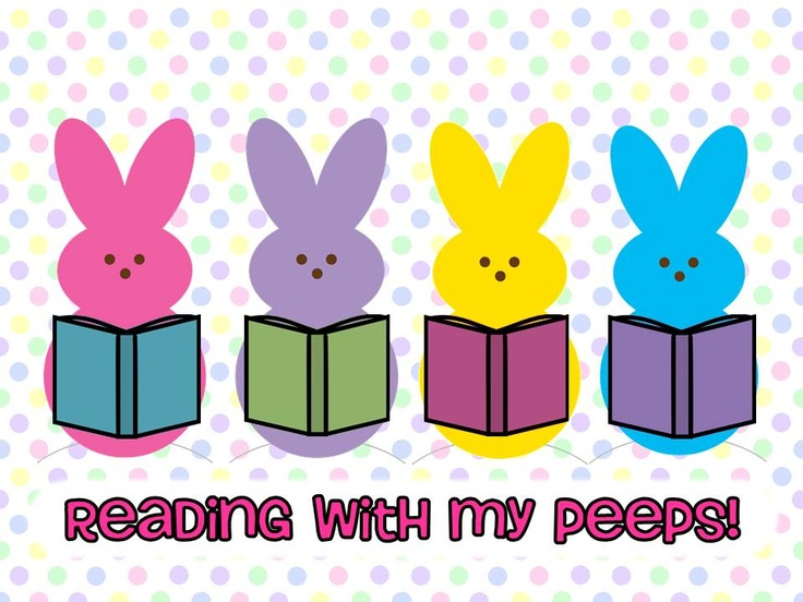 Smithville Elementary Library: Reading With My Peeps! This could be a cute spring bulletin board!