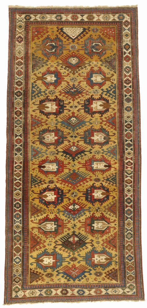 Kuba rug, east Caucasus, mid-19th century. 103 x 137cm. Zaleski Collection