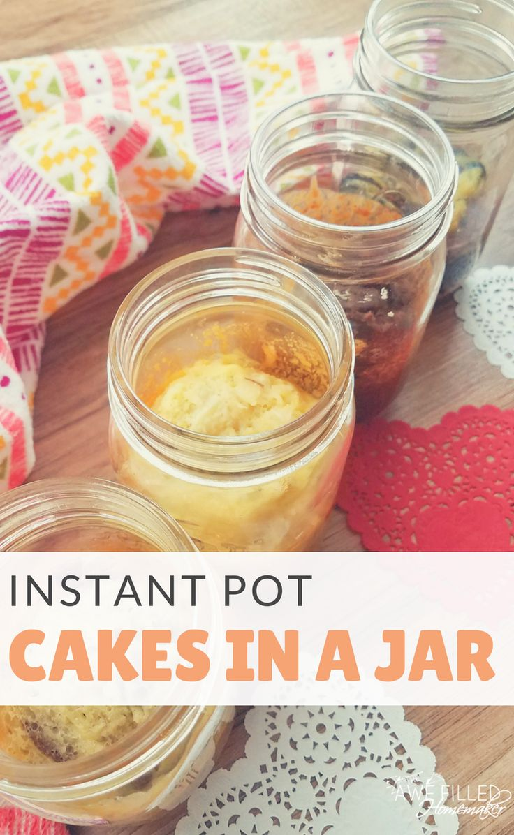 I have always just adored cake in a jars! They make the perfect gift and are del…