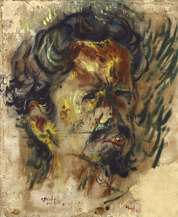Self-Portrait, Affandi