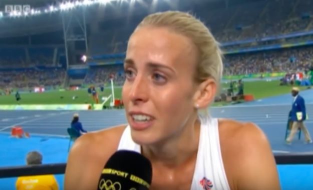 British athlete Lynsey Sharp competed in the women's 800m race yesterday. In the…