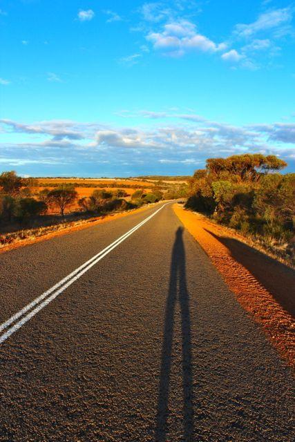On the road to Kalbarri, Western Australia