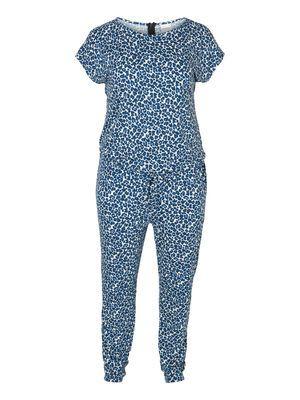 KAMELIA JUMPSUIT  Jump into a cute printed jumpsuit this season!   #junarose #jumpsuit #blue #fashion #style #curvy @JUNAROSE
