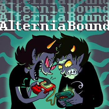AlterniaBound by Homestuck....great album cover illustration