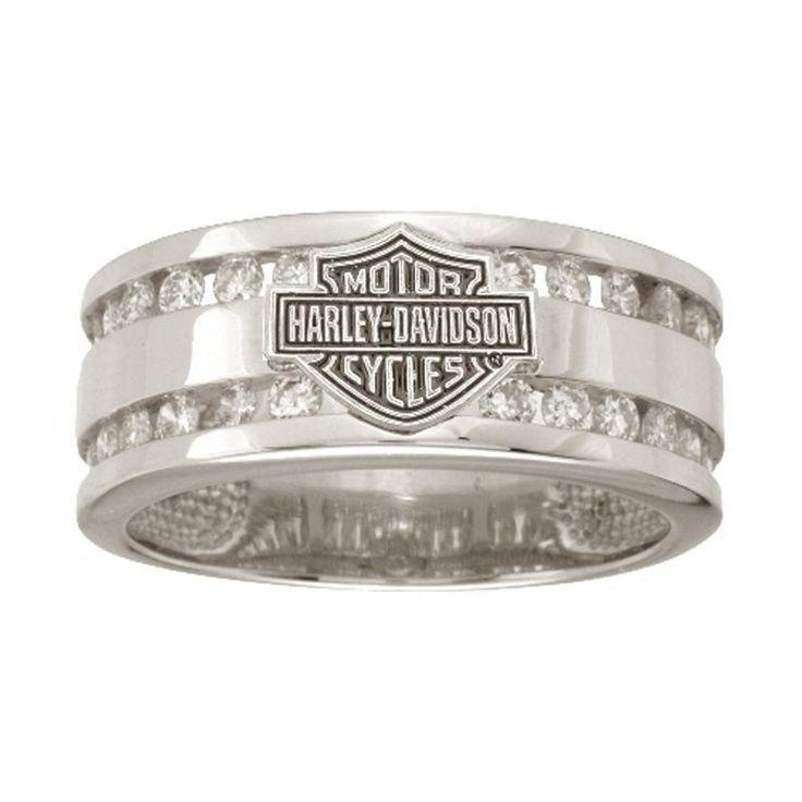harley davidson wedding band for men harley davidson mens wedding ring wrg475d - Harley Wedding Rings