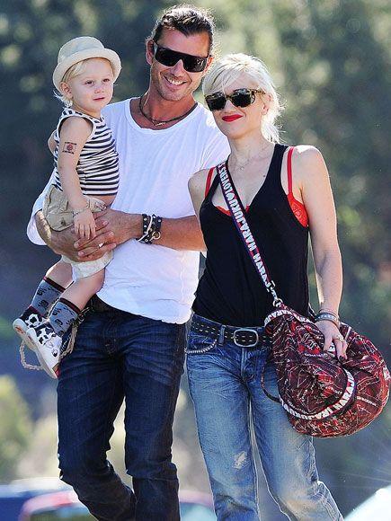THREE'S COMPANY    photo | Gavin Rossdale, Gwen Stefani, Zuma Rossdale