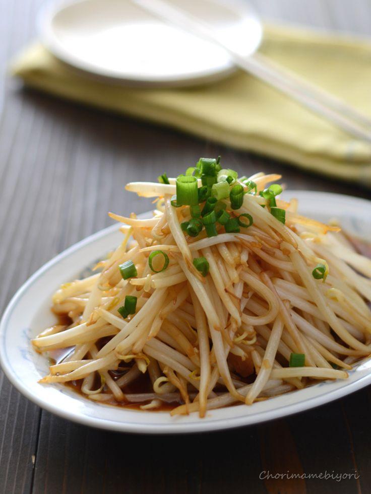 中華もやし by 西山京子/ちょりママ / もやし1袋でできるあと一品におすすめの副菜です。ごはんが・・・とまらないっ♪ / Nadia