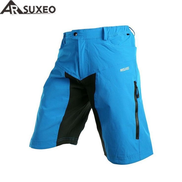 ==> [Free Shipping] Buy Best 2017 ARSUXEO Outdoor Sports Mens Cycling Downhill MTB Shorts Mountain Bike Bicycle Shorts Wear Jersey Clothing With Pad DH-2 Online with LOWEST Price | 32424462201