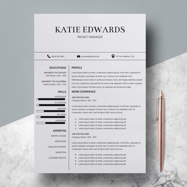 Best Resume Templates Etsy Shop Images On   Cover