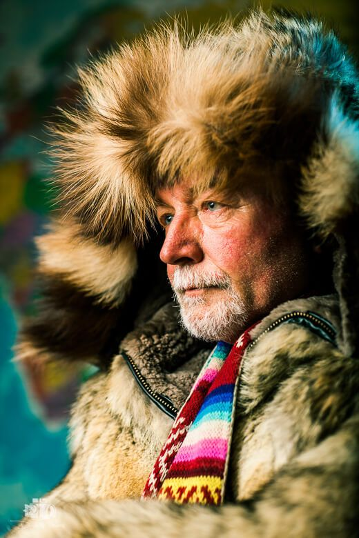 Most Traveled Man Babis Bizas by Dimitris Vlaikos