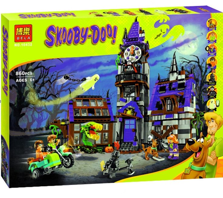 58.99$  Watch here - http://ali5xm.worldwells.pw/go.php?t=32602082429 - 860pcs Bela 10432 Mystery Mansion Scooby Doo Dog Carton Movie Animal Building Blocks Kit Minifigures toys Legousi Toys Figures