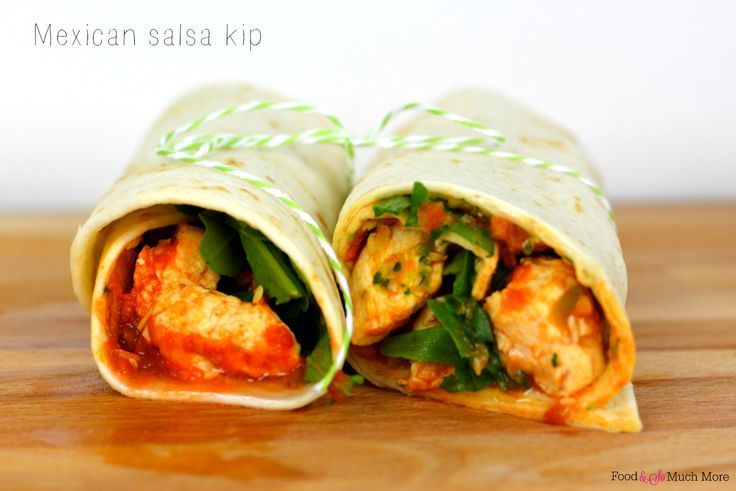 Lunchwraps Mexican salsa kip // Food & So Much More