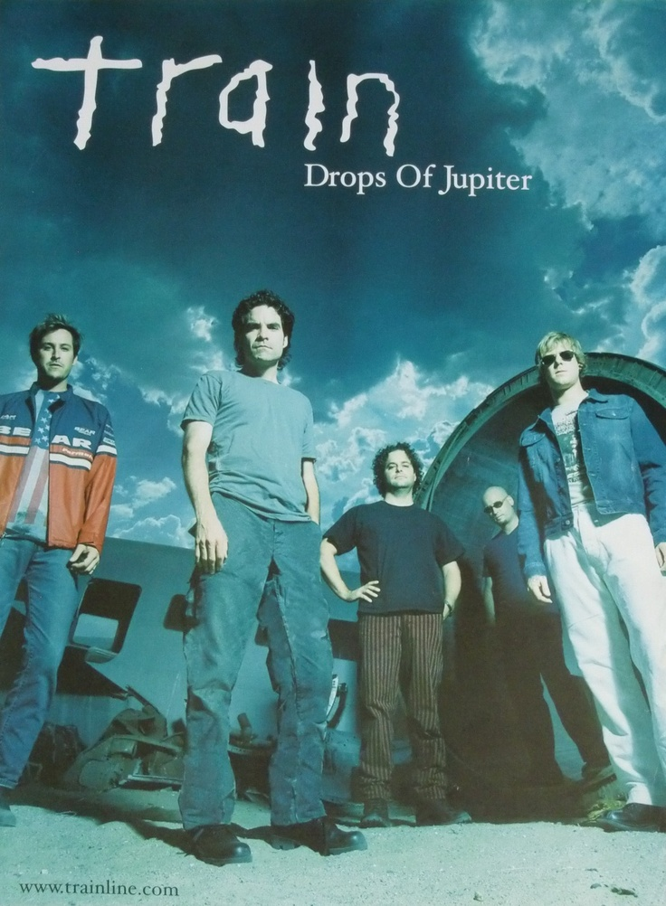"Train's 2001 album, Drops of Jupiter contained the lead single ""Drops of Jupiter (Tell Me)"", which won two Grammy Awards in 2002. Lead singer Patrick Monahan has stated that the song was inspired by the death of his mother, and that the opening lines came to him in a dream."
