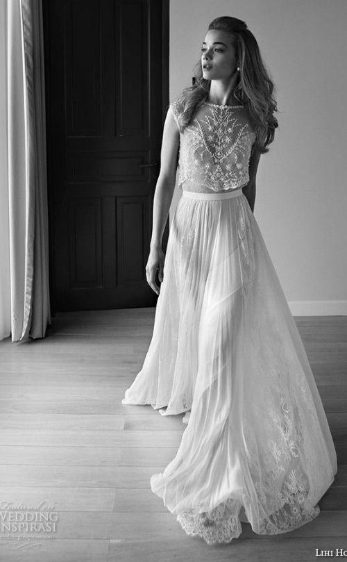 Lihi Hod 2015 Wedding Dresses — Film Noir in White Bridal Collection  Wedding Inspirasi