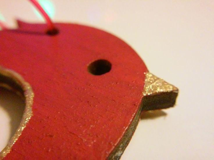 DeQ Pasja: Ozdoby świąteczne - wycinanki ze sklejki