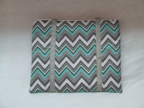 Cricut Bright Pad Sleeve Small Laptop Carrying Case Ipad Carrying Bag Gray And Mint Chevron Co Mint Chevron Small Laptop Laptop Carrying Case