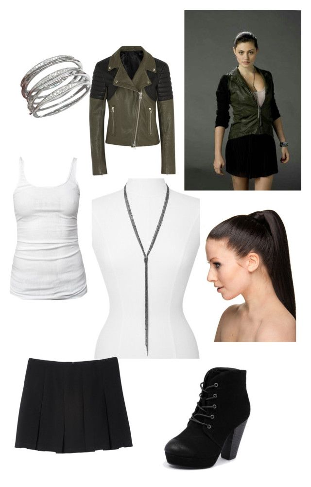 """""""Faye Chamberlain inspired style TSC"""" by palmtree2539 ❤ liked on Polyvore featuring Express, James Perse, Monki, Faith Connexion, Rapunzel Of Sweden and Therapy"""